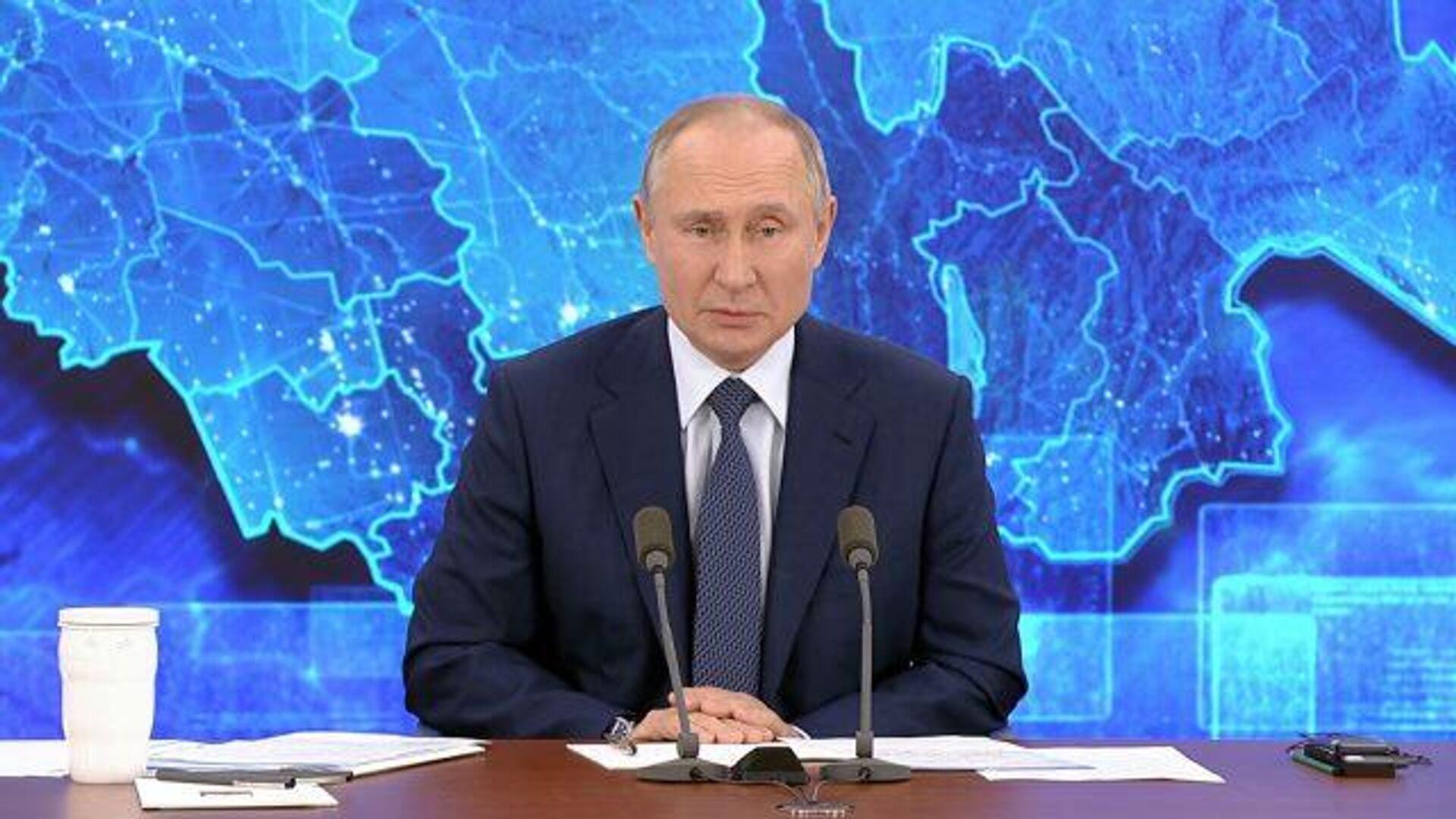 Путин прокомментировал скандальное видео с Дзюбой - РИА Новости, 1920, 17.12.2020