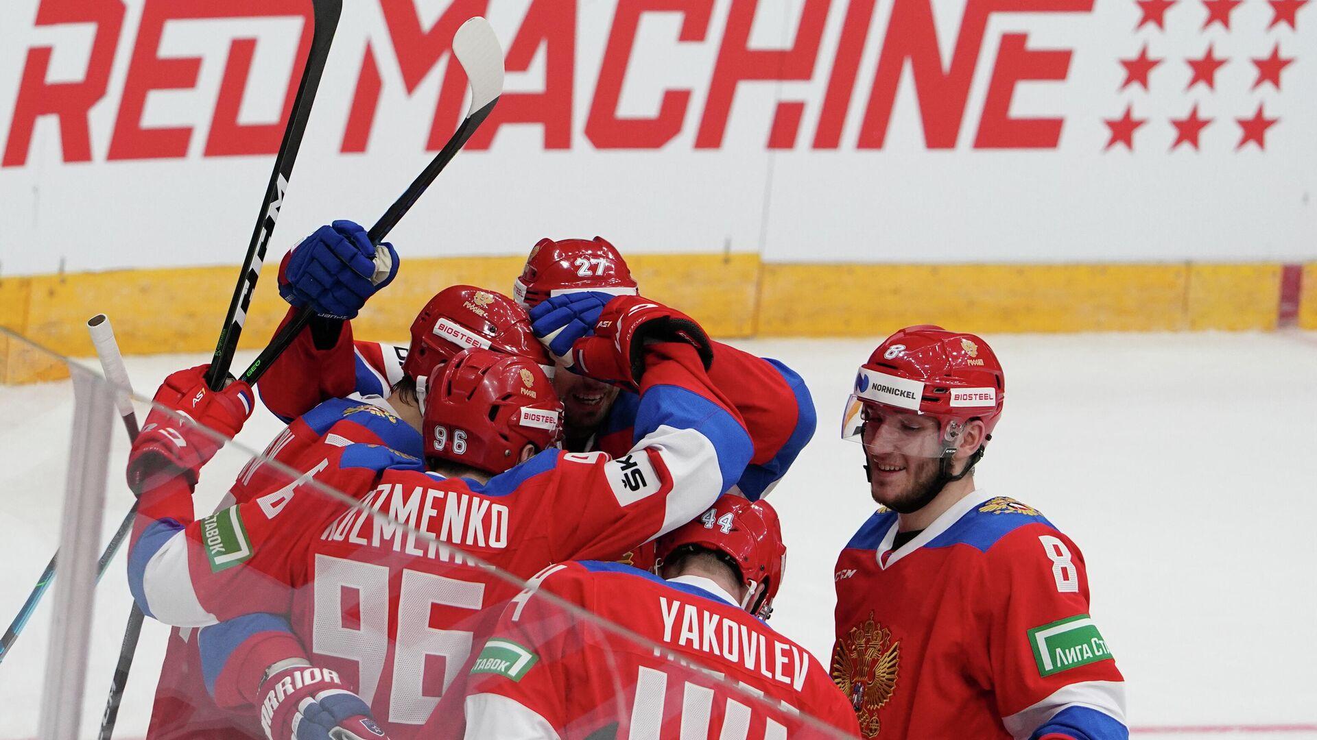 Хоккеисты сборной России - РИА Новости, 1920, 17.12.2020