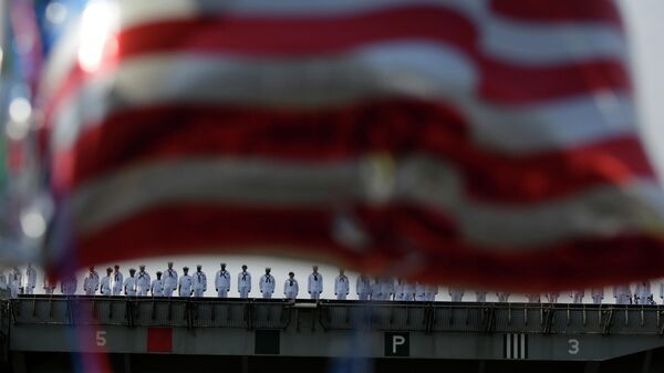 Команда авианосца Рональд Рейган ВМС США