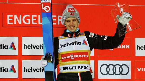 Лыжник Халвор Эгнер Гранеруд (Норвегия)