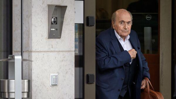 Экс-президент ФИФА Йозеф Блаттер
