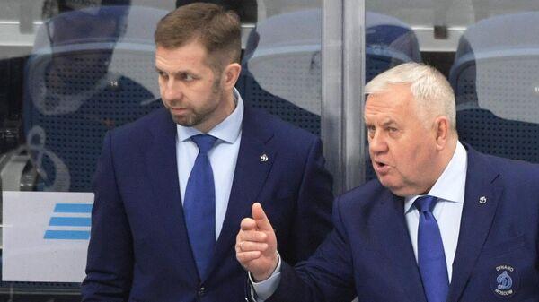 Владимир Крикунов (справа) и Юрий Бабенко