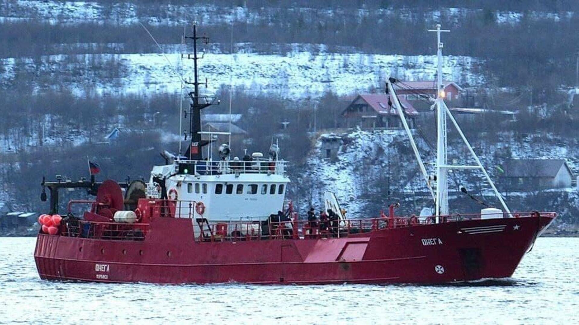 Стали известны подробности ЧП с рыболовным судном в Баренцевом море