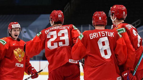 Молодежная сборная России по хоккею на чемпионате мира 2021 года