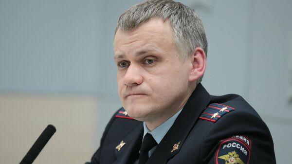 Полковник полиции Алексей Диокин