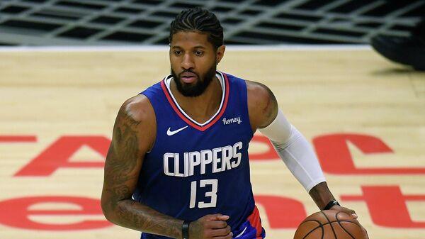 Баскетболист Лос-Анджелес Клипперс Пол Джордж