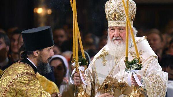 LIVE: Рождественское богослужение из храма Христа Спасителя в Москве