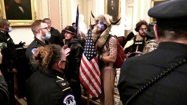 Акция протеста сторонников Дональда Трампа в Вашингтоне