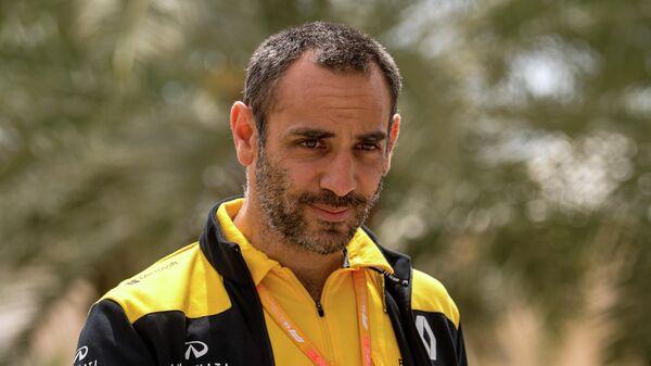 Руководитель команды Формулы-1 Рено Сириль Абитебуль