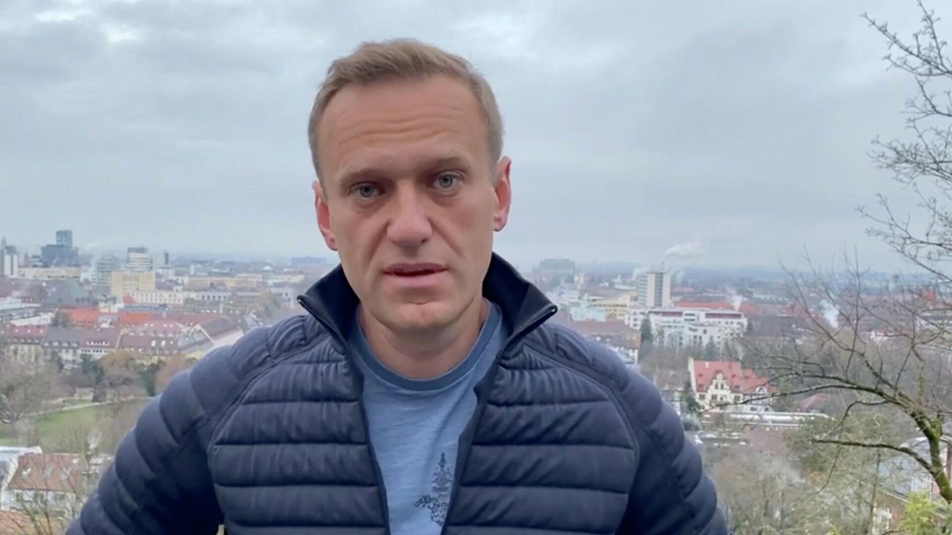 Алексей Навальный в Германии - РИА Новости, 1920, 17.01.2021
