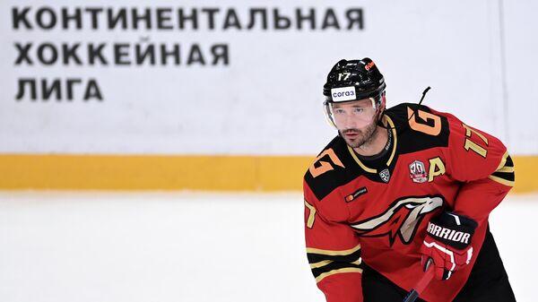 Игрок Авангарда Илья Ковальчук