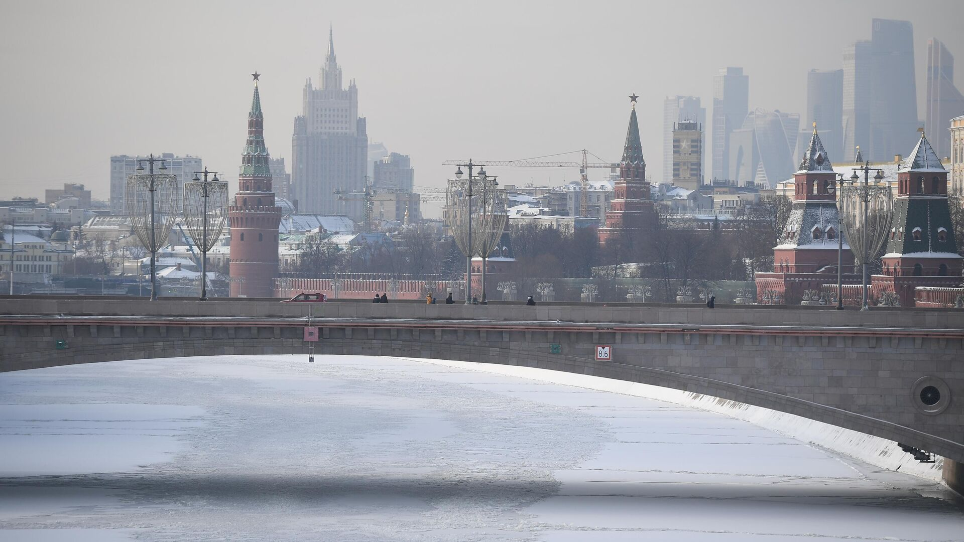 Большой Москворецкий мост в Москве - РИА Новости, 1920, 21.01.2021