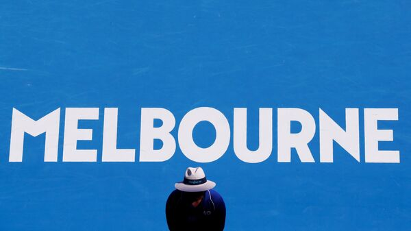 Теннисный корт в австралийском Мельбурне