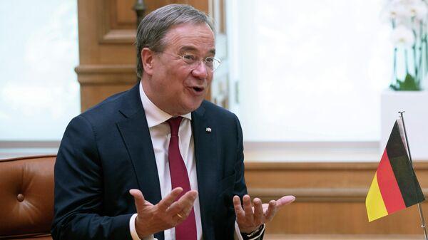 Немецкий политик, член партии Христианско-демократический союз Армин Лашет