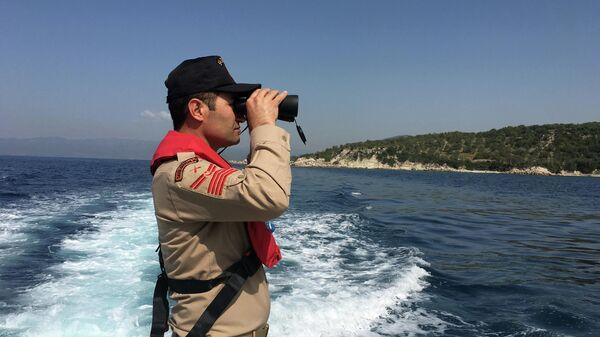 Офицер береговой охраны Турции