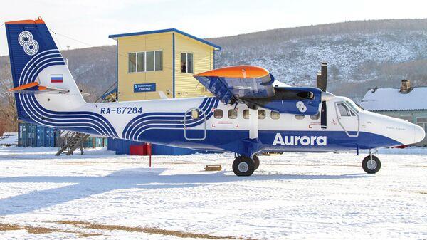 Самолет DHC-6 авиакомпании Аврора