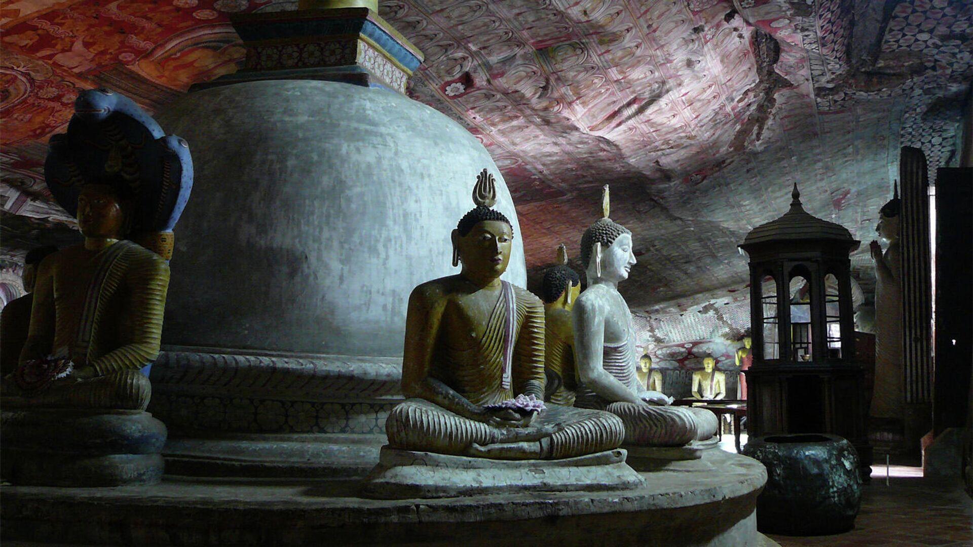 Королевский пещерный храм Дамбулла - РИА Новости, 1920, 20.01.2021