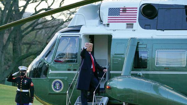 Чужой. Дональд Трамп провел свою последнюю ночь в Белом доме