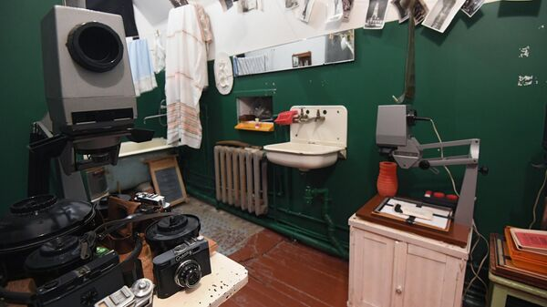 Ванная комната в музее Арткоммуналка. Ерофеев и Другие в Коломне