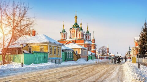 Крестовоздвиженский собор на территории Коломенского кремля
