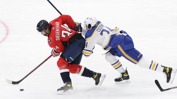 Матч НХЛ между Вашингтон Кэпиталз и Баффало Сейбрз