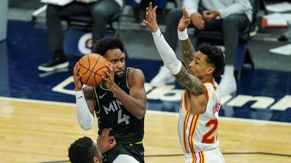 Матч НБА между Атлантой Хоукс и Миннесотой Тимбервулвз
