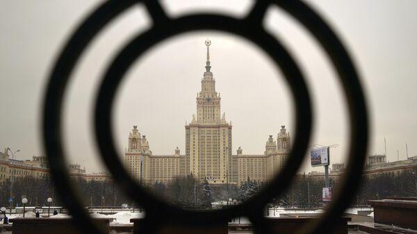 Главное здание Московского государственного университета имени М.В. Ломоносова