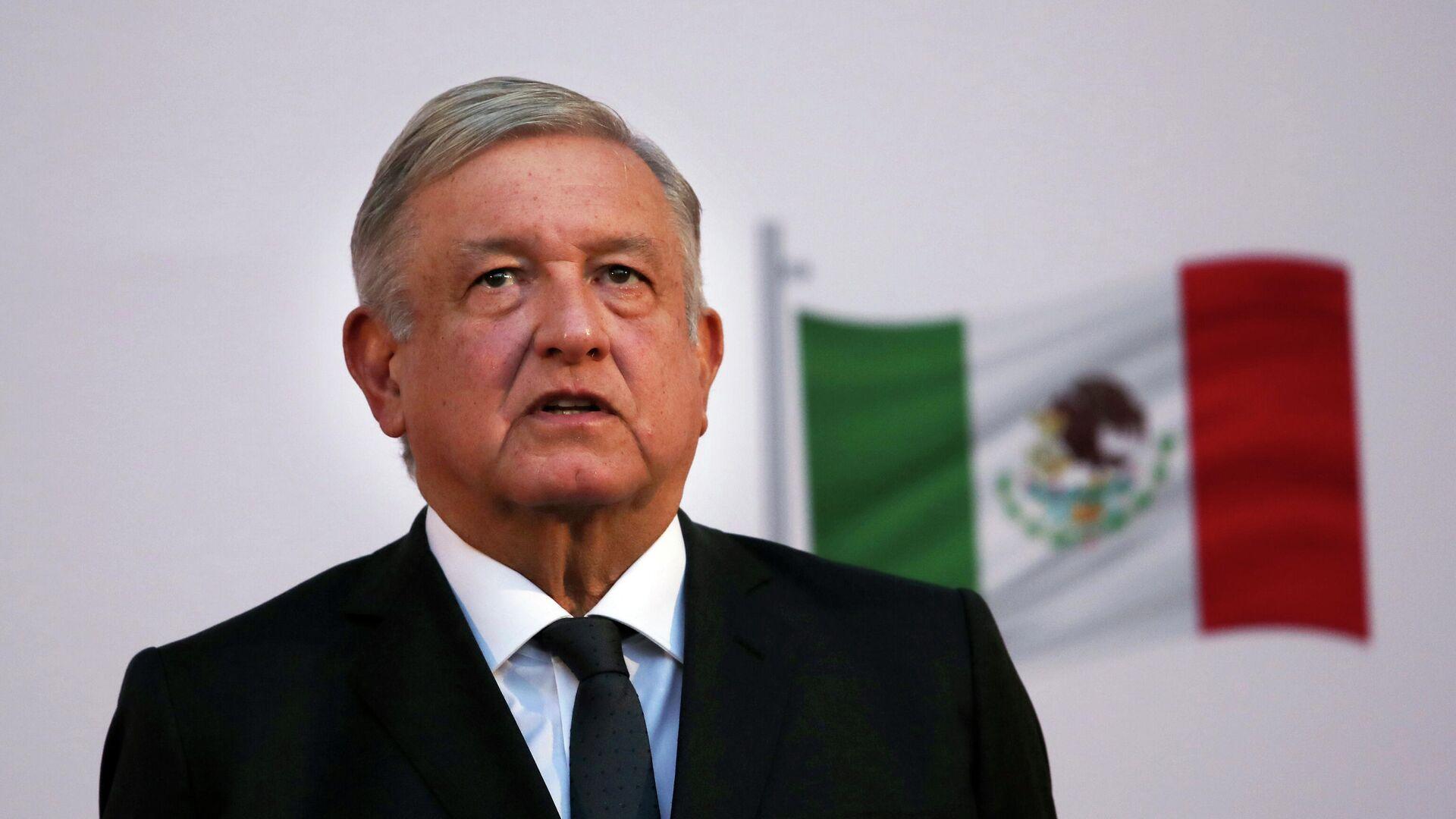 Президент Мексики Андрес Мануэль Лопес Обрадор - РИА Новости, 1920, 24.07.2021