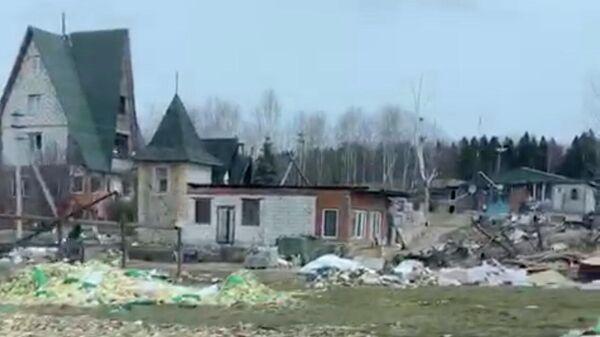 Участок Геннадия Реуцкого. Стоп-кадр видео