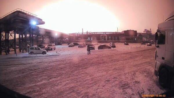Пожар на заводе Уфаоргсинтез