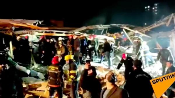 Взрыв газа в частном доме в Азербайджане