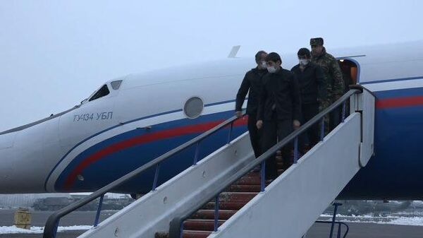 Кадры возвращения пленных в Армению из Азербайджана