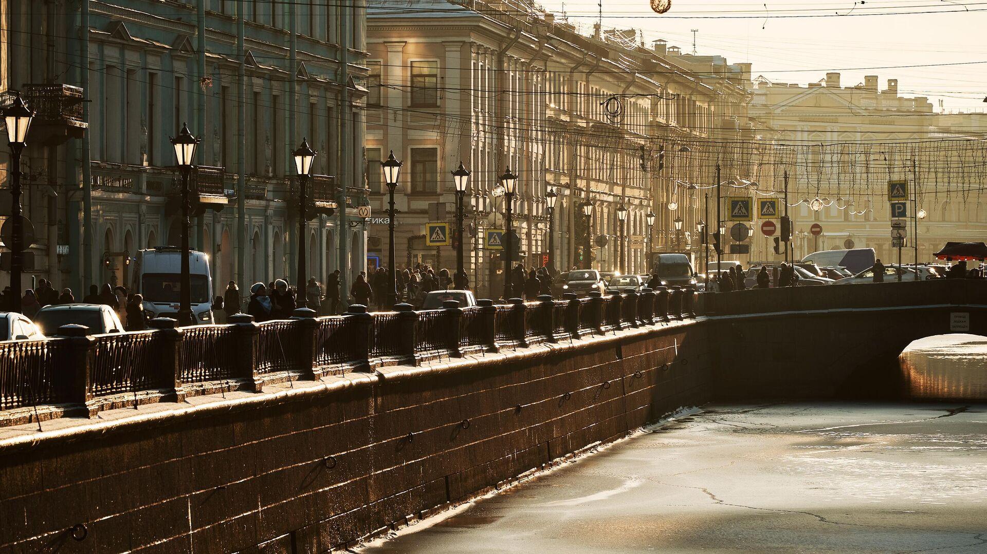 Солнечный день в Санкт-Петербурге - РИА Новости, 1920, 02.02.2021