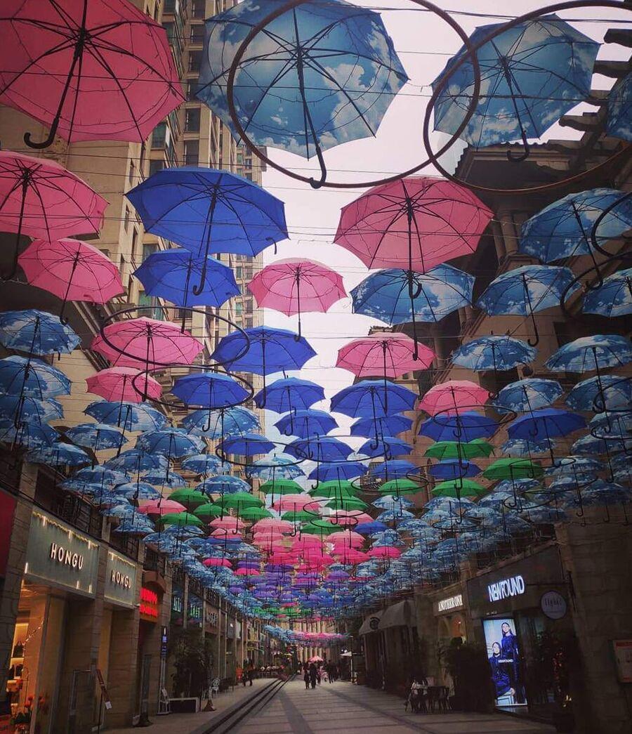 Улица в Китае