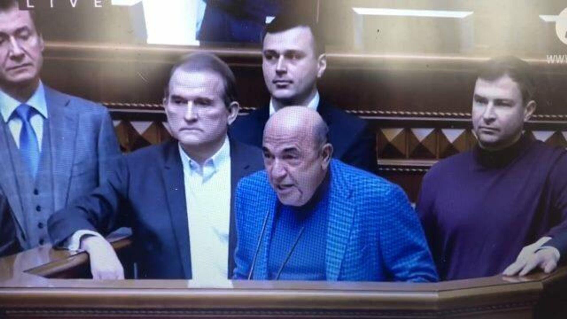 Рабинович объявляет о запуске процедуры импичмента Зеленского - РИА Новости, 1920, 03.02.2021