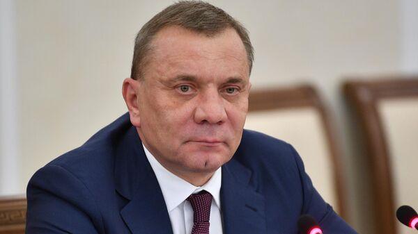 Заместитель председателя правительства РФ Юрий Борисов в Минске