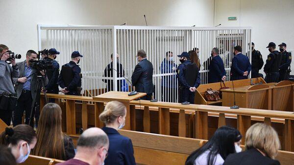 Предварительное заседание по делу Белгазпромбанка в Минске