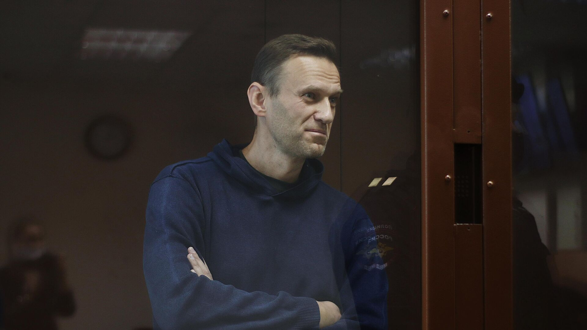 Алексей Навальный в зале Бабушкинского районного суда - РИА Новости, 1920, 05.02.2021