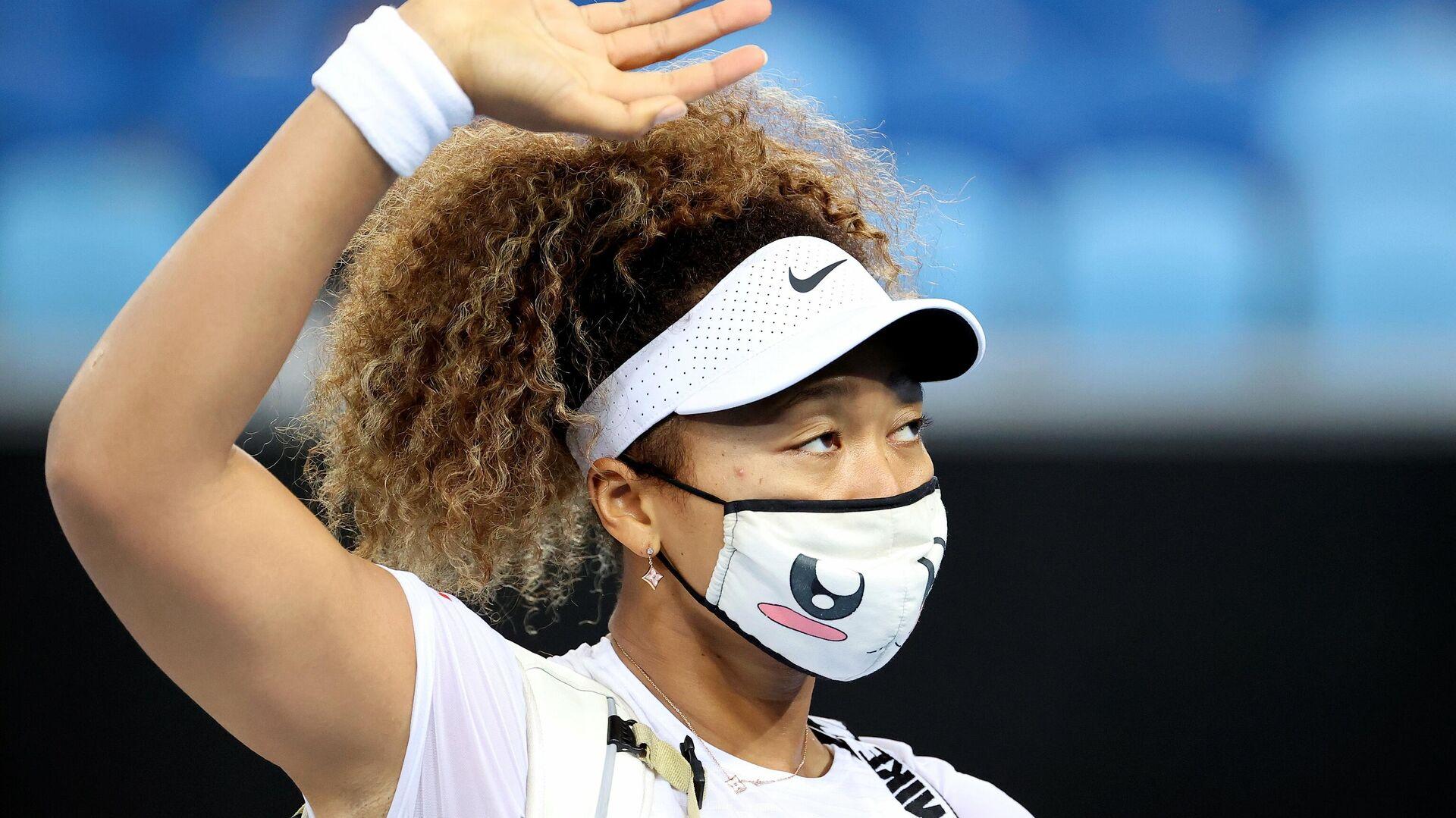 Теннисистка Наоми Осака (Япония) - РИА Новости, 1920, 06.02.2021