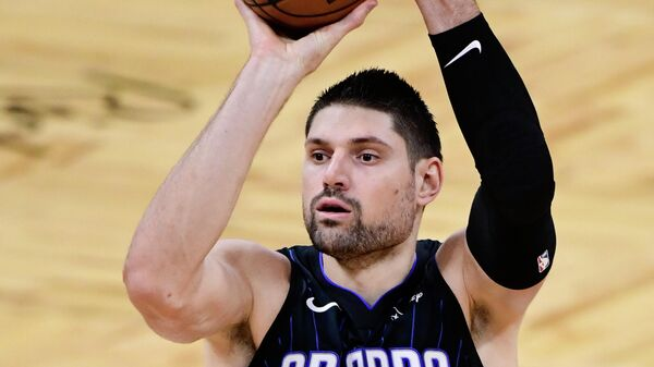 Игрок клуба НБА Орландо Мэджик Никола Вучевич