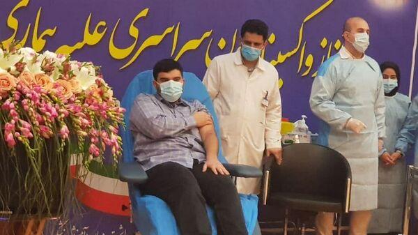 Начало вакцинации вакциной Спутник V в Иране