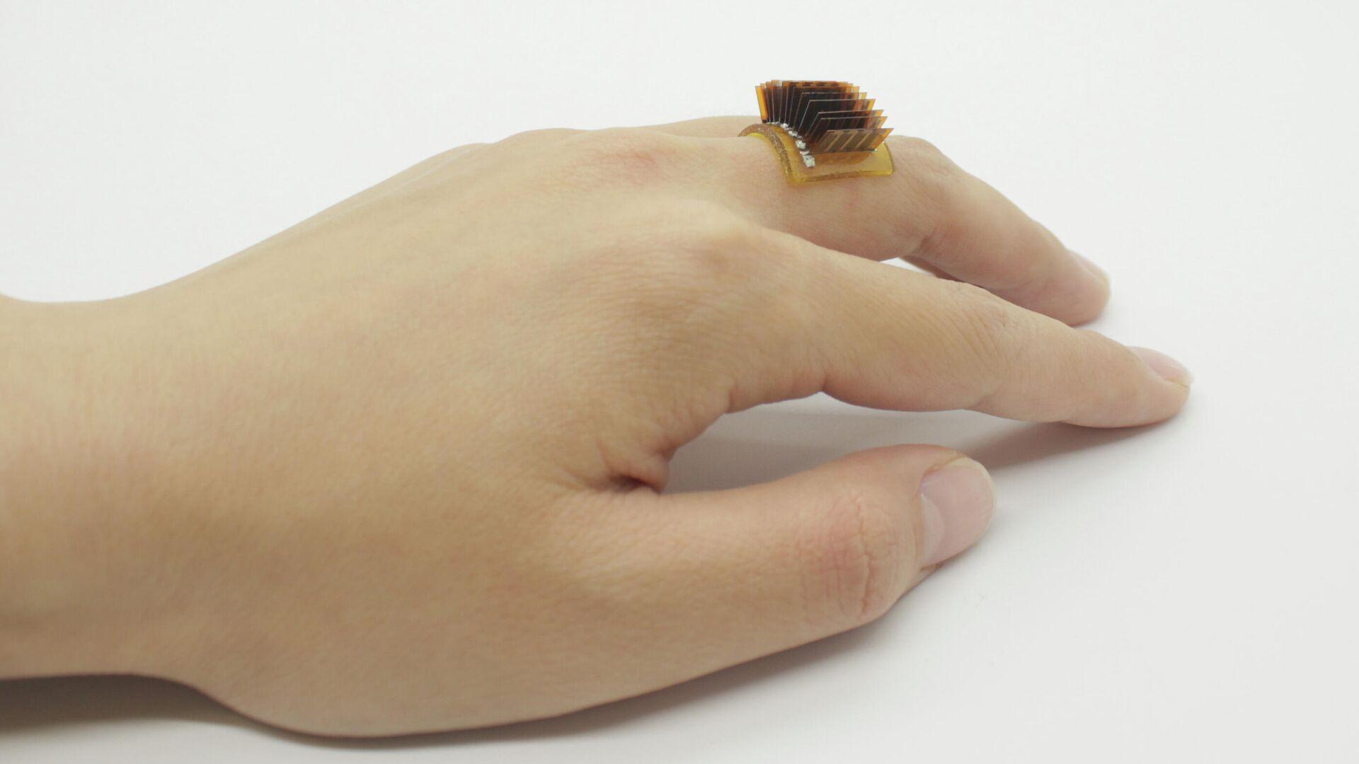 Создано зарядное устройство, использующее тепло тела