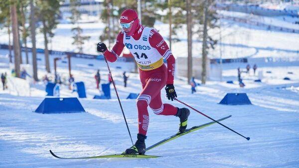 Российский лыжник Александр Терентьев