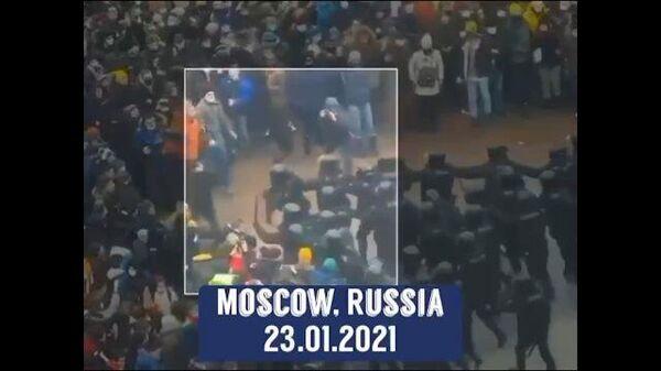 Удаленный ролик о протестах. Видео постпредства РФ в ОБСЕ