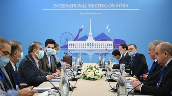 XV Международная встреча по Сирии в астанинском формате