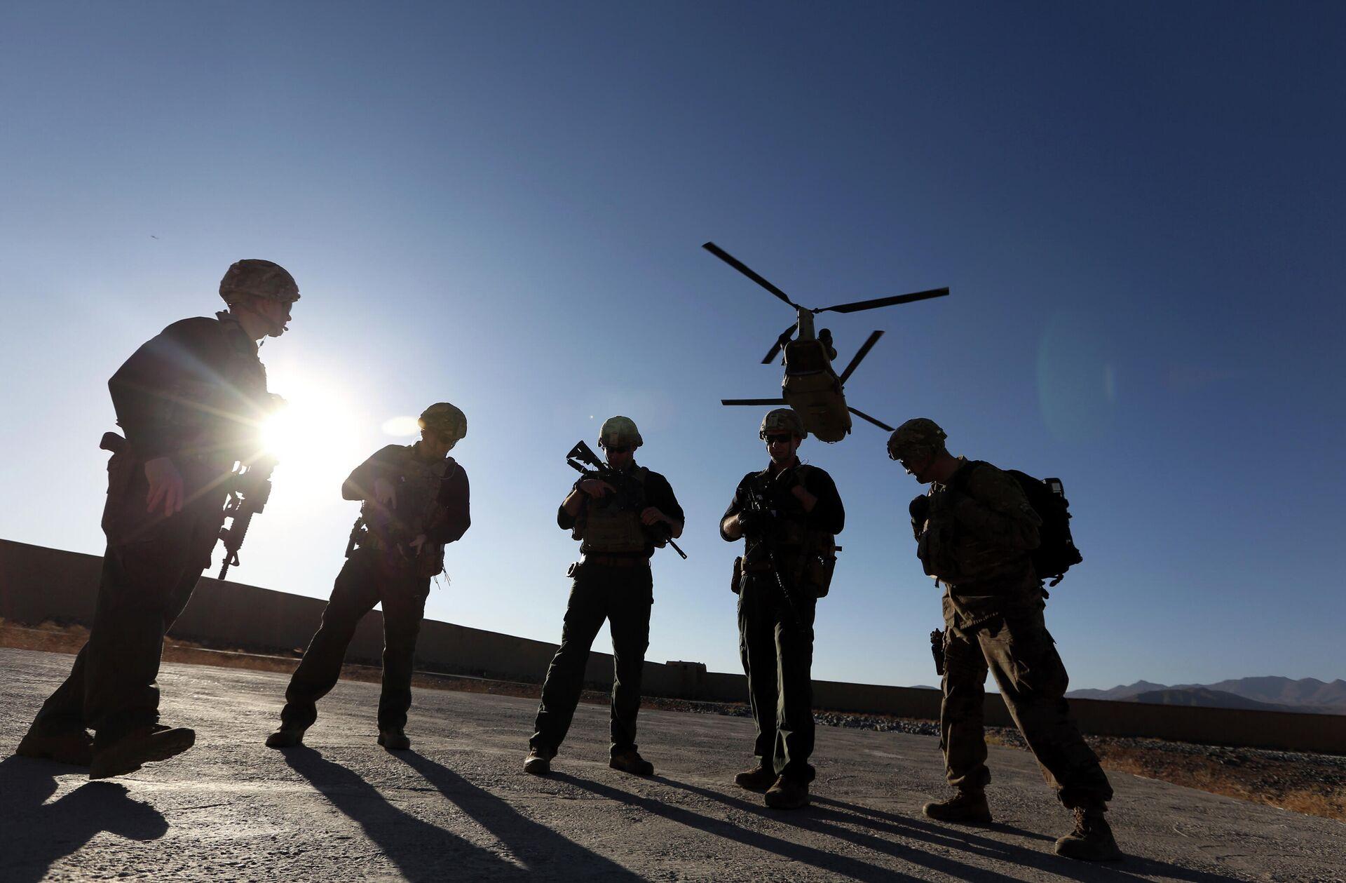 Американские солдаты в провинции Логар, Афганистан. - РИА Новости, 1920, 06.04.2021