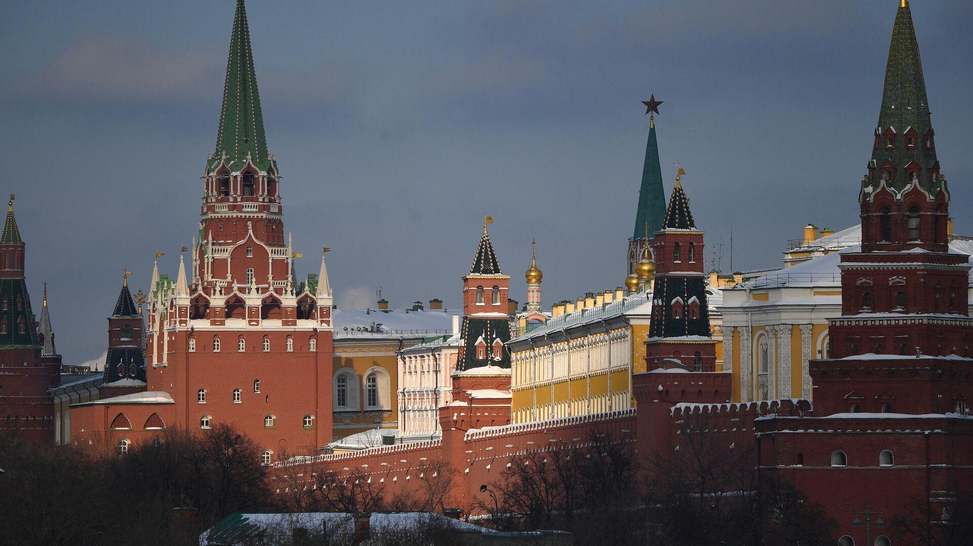 Московский Кремль - РИА Новости, 1920, 26.02.2021
