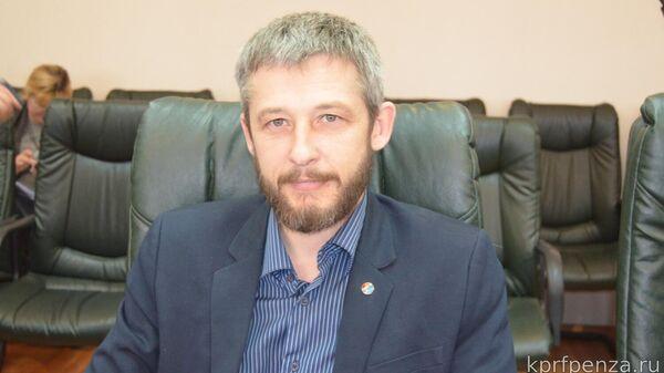 Руководитель фракции КПРФ в Пензенской городской Думе Александр Смирнов