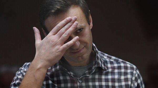 Алексей Навальный в зале Бабушкинского районного суда