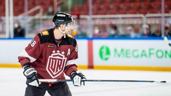 Хоккеист рижского Динамо Геннадий Столяров